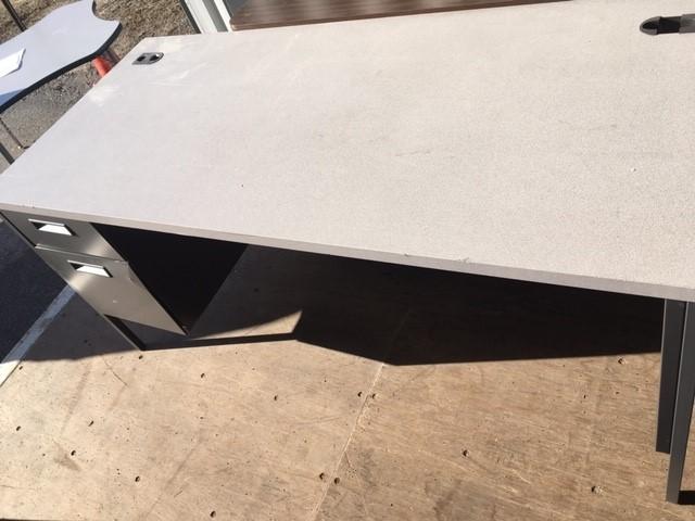 2 drawer pedestal teacher desk
