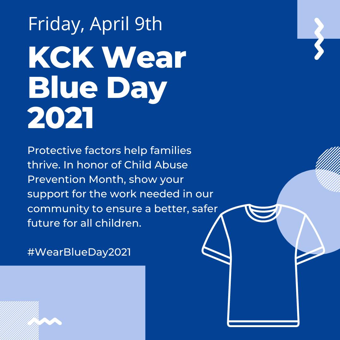 KCK Wear Blue Day is April 9th