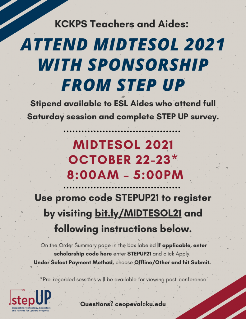 STEP_UP Conference Email